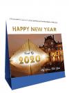Lịch Để Bàn Chữ A 2020 (17x19 cm) - Kỳ Quan Thế GIới - NS30