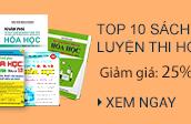 Top 10 Cuốn Sách Luyện Thi Hóa Học Bán Chạy Nhất 2018