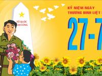 Tri Ân Tưởng Nhớ Ngày Thương Binh Liệt Sĩ 27/7