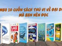Cùng Khám Phá Thế Giới Đại Dương Qua Combo 10 Cuốn Sách