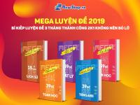 Siêu Khuyến Mãi 40% Bộ Sách Mega Luyện Đề Hot Nhất 2019