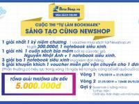 """CUỘC THI """"TỰ LÀM BOOKMARK"""" - SÁNG TẠO CÙNG NEWSHOP"""
