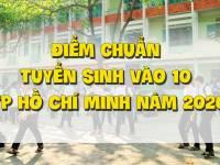 Điểm chuẩn tuyển sinh vào 10 TP Hồ Chí Minh năm 2020