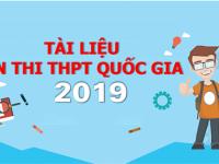 Chinh Phục Điểm 9-10 Kì Thi THPT Quốc Gia 2019 Với Bộ Đề Bứt Phá Điểm Thi