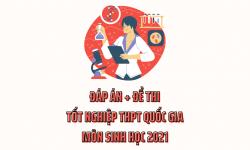 Đáp Án + Đề Thi Tốt Nghiệp THPT Quốc Gia Môn Sinh Học 2021