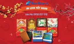 In Lịch Tết 2020 Tại Tp. HCM - Uy Tín - Chuyên Nghiệp - Mẫu Mã Đẹp