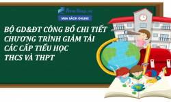 Chương Trình Giảm Tải Mới Nhất Của Bộ GD - ĐT Cho Học Sinh Các Cấp
