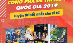 Luyện Đúng - Luyện Trúng Đề Với Bộ Sách Công Phá Đề 2019 Hay Nhất Hiện Nay