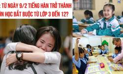 Nóng: Tiếng Hàn trở thành ngôn ngữ bắt buộc trong chương trình học
