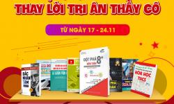 Giảm Sốc Đến 40% Sách Luyện Thi, Tham Khảo Tri Ân Ngày 20/11 Tại Newshop