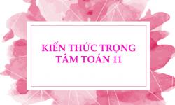 Tóm Tắt Toàn Bộ Kiến Thức Trọng Tâm Toán 11 Cho Teen 2k1 Ôn Thi Thpt Quốc Gia