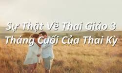 Sự Thật Về Thai Giáo 3 Tháng Cuối Của Thai Kỳ