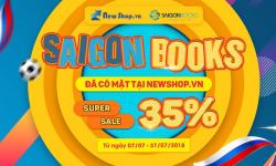 Big Sale Với Siêu Khuyến Mãi 35% Các Đầu Sách Saigon Books Hot Nhất Newshop