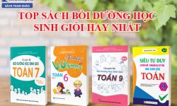 TOP Sách Bồi Dưỡng Học Sinh Giỏi Toán Cấp 2 Do Nguyễn Đức Tấn Chủ Biên