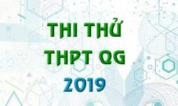 Tổng Hợp Đề Thi Thử THPT Quốc Gia 2019 Của Tất Cả Các Môn Dành Cho Các Sĩ Tử 2k1