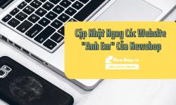 "Cập Nhật Ngay Các Website ""Anh Em"" Của Newshop"