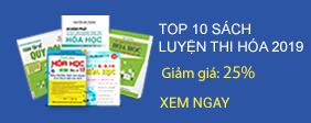 Top 10 Cuốn Sách Luyện Thi Hóa Học Bán Chạy Nhất 2019