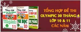 Sách Luyện Thi Olympic 2020