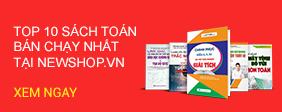 Top 10 Cuốn Sách Luyện Thi Trắc Nghiệm Toán 2019 Bán Chạy Nhất Tại Newshop.vn