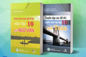Review Bộ Sách Ôn Thi 9 Vào 10 Môn Toán, Văn Sát Theo Cấu Trúc Đề Thi Của Bộ GD&ĐT