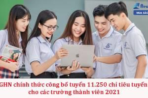 ĐHQGHN công bố tuyển sinh 2021 cho các trường thành viên