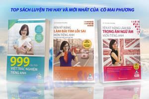 Những Cuốn Sách Luyện Thi Của Cô - Mai Phương Giúp Teen 2k1 Nắm Chắc Điểm 9-10 Trong Tay