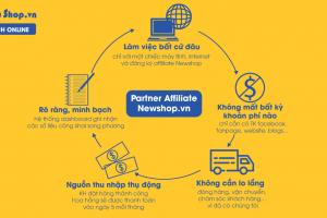 Affiliate Là Gì? 3 Bước Kiếm Tiền Online Đơn Giản Với Affiliate Tại Newshop.vn