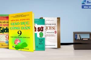"""""""Tất Tần Tật"""" Về Bộ Sách Tham Khảo Môn Sinh, Sử, Địa Lớp 9 Không Thể Tốt Hơn"""