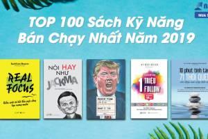 TOP 100 Sách Kỹ Năng Bán Chạy Nhất Năm 2019