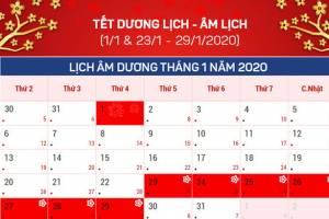 Tổng Hợp Các Ngày Nghỉ Lễ Trong Năm 2020