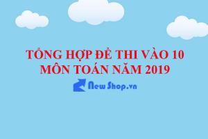 Tổng Hợp Đề Thi Và Đáp Án Môn Toán Kỳ Thi Tuyển Sinh Vào 10 Năm 2019