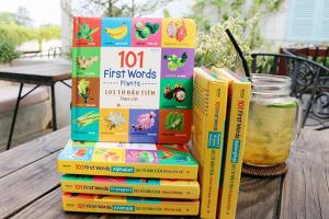 Review Bộ Sách 101 First Word, Từ Vựng Tiếng Anh Cực Dễ Học Và Dễ Nhớ Dành Cho Các Bé 2-7 Tuổi