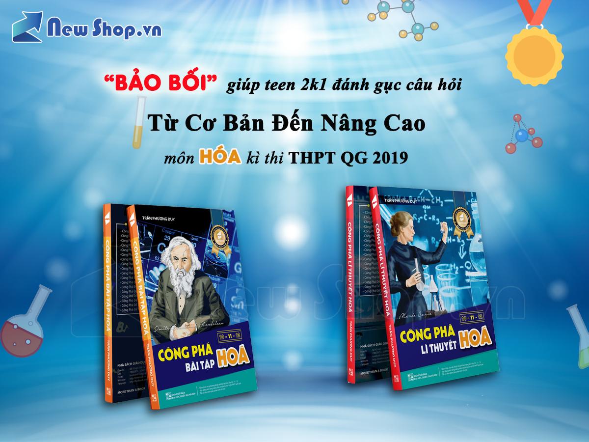 COMBO CÔNG PHÁ HÓA