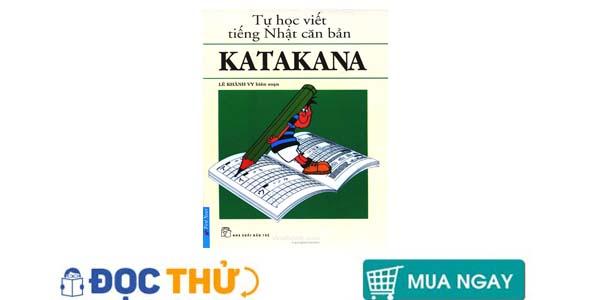 tập viết chữ katakana tiếng nhật  newshop