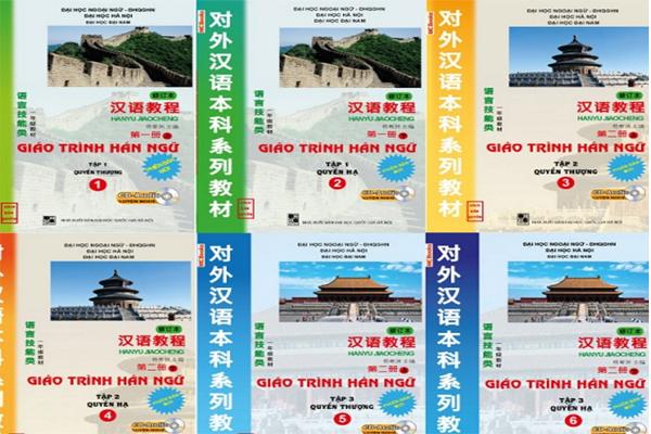 Bộ Giáo Trình Hán Ngữ 6 Quyển