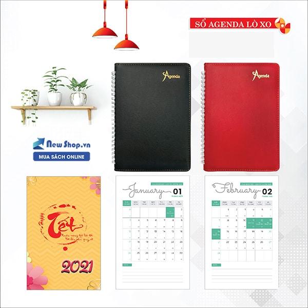 lịch agenda 2021 tại tphcm