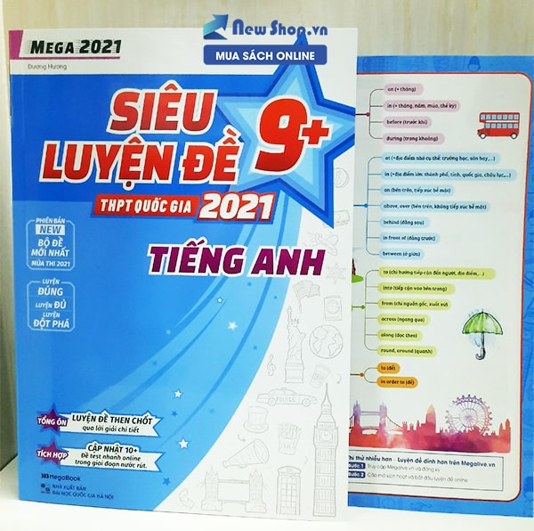 sách meag tiếng anh 2021