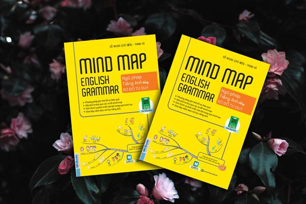 Kết quả hình ảnh cho SÁCH  Mindmap English Grammar - Ngữ Pháp Tiếng Anh Bằng Sơ Đồ Tư Duy
