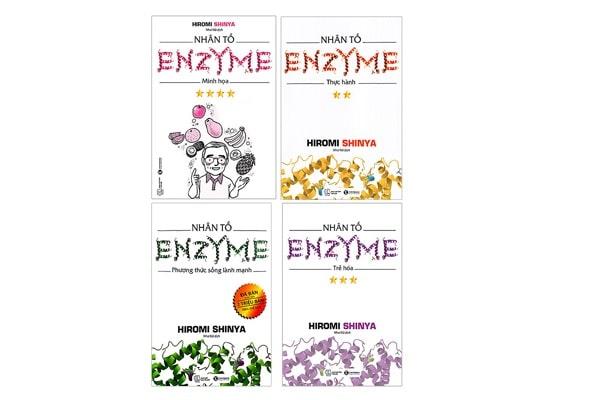 Sách hay về dinh dưỡng nhân tố enzyme