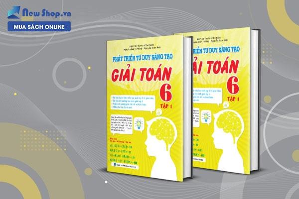 sách tham khảo toán phát triển tư duy sáng tạo giải toán lớp 6
