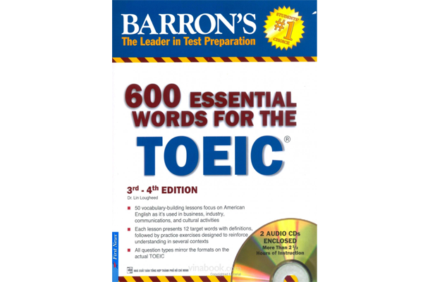600 Essential Words For The Toeic 3rd - 4th Edition