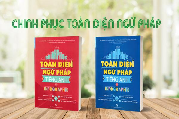 Bộ sách ôn thi thpt quốc gia 2020 Chinh phục toàn diện ngữ pháp tiếng anh