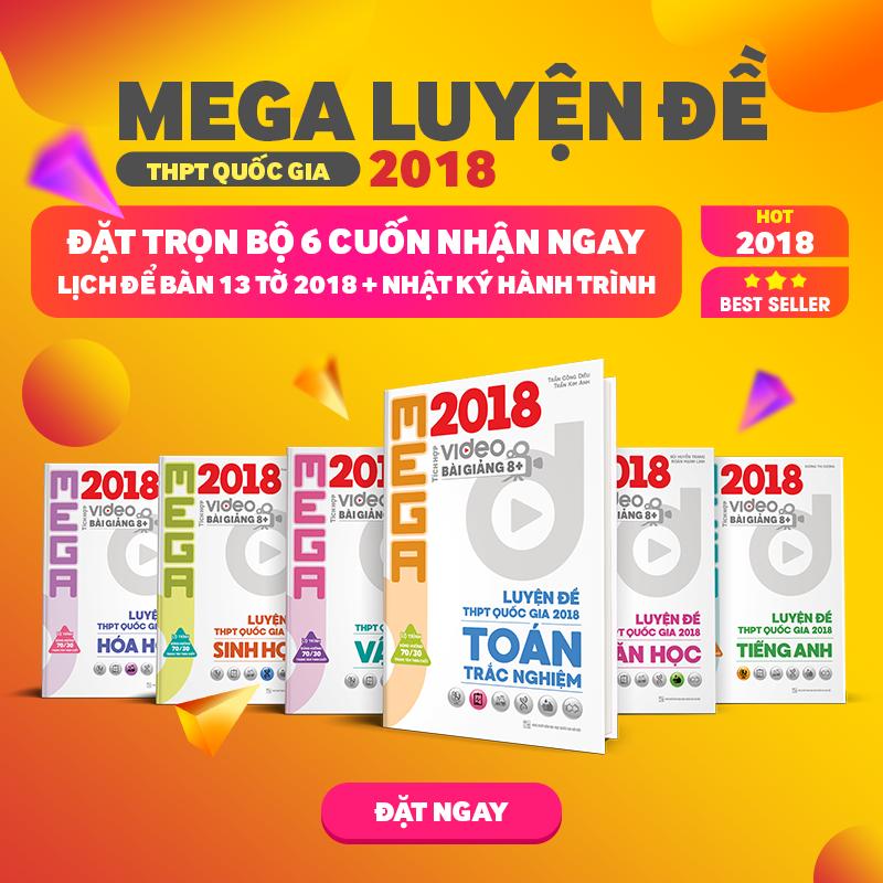 [ĐẶT GẠCH] MEGA LUYỆN ĐỀ THPT QUỐC GIA 2019