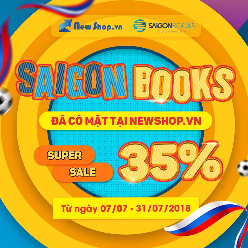 Sách Sài Gòn Book Nay Đã Có Mặt Tại Newshop.vn Giảm Đến 35%