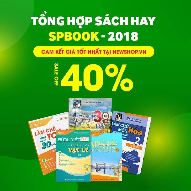 Nhà Sách SPBook - Giảm 40% Sách Luyện Thi THPT Hay 2017 Mua Online Tại Newshop.vn