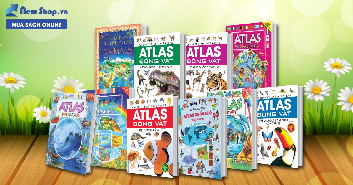 Bộ Atlas Bằng Tranh Giúp Con Hiểu Hơn Về Thế Giới Bên Ngoài