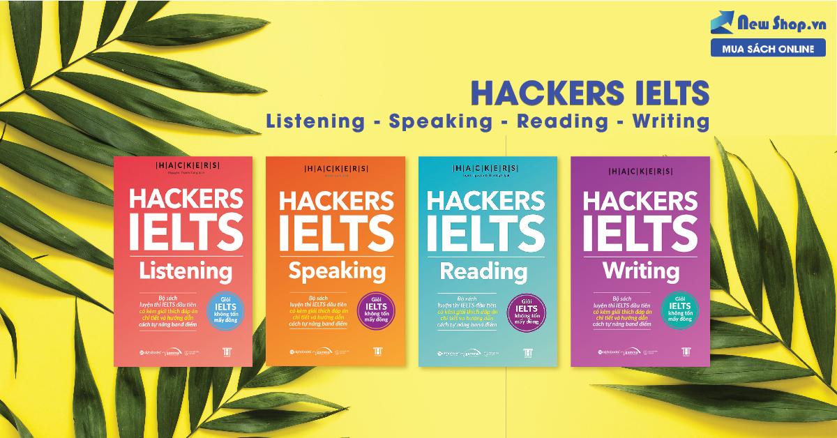 Sách Hackers IELTS - Giỏi IELTS Không Tốn Mấy Đồng