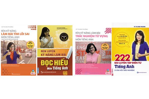 Danh Sách Những Đầu Sách Tiếng Anh Bán Chạy Nhất Của Cô Mai Phương