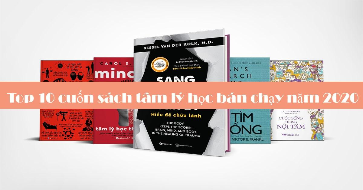 Top 10 Cuốn Sách Tâm Lí Bán Chạy 2020