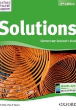 Solutions Elementary Student's Book 2Ed